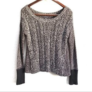 American Eagle Cable Knit Wool Blend Sweater XS